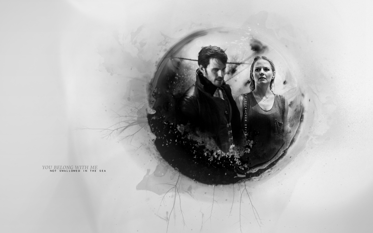HookEmma   Captain Hook and Emma Swan Wallpaper 35559624 1280x800