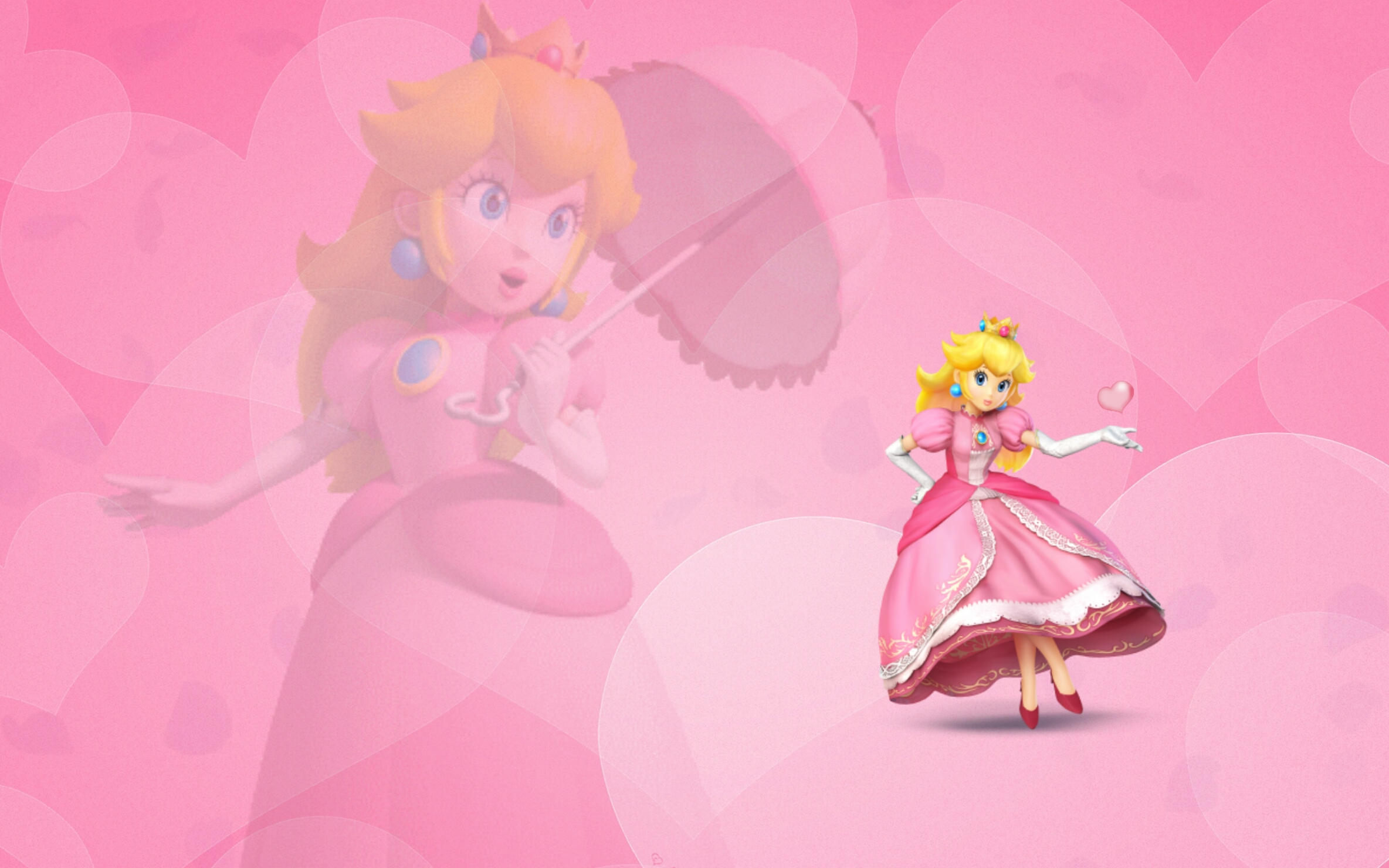 Princess Peach wallpaper by Ask  Princess  Zelda on deviantART 2368x1480