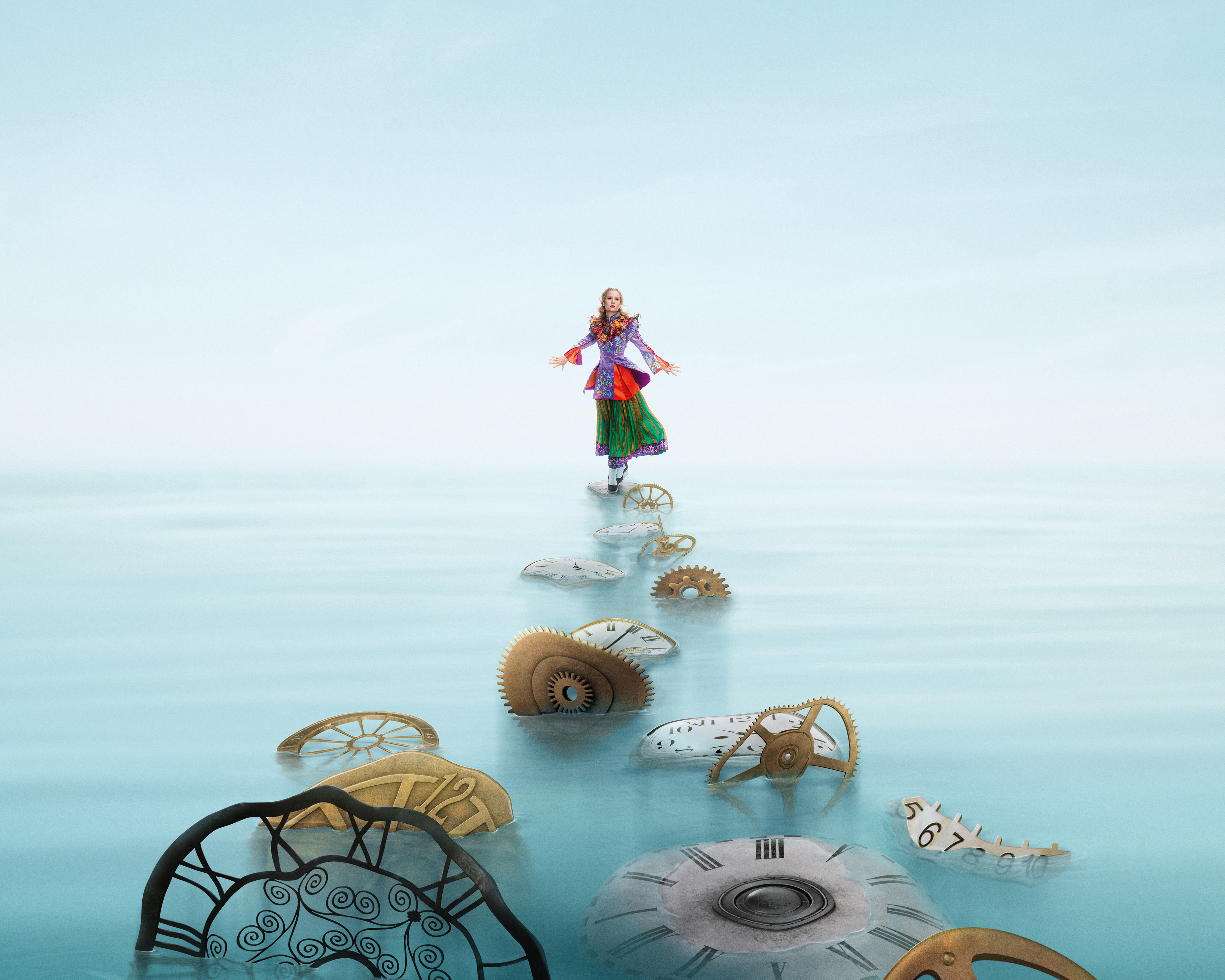 Wallpaper exclusive alice through the looking glass alice through 1680x1050