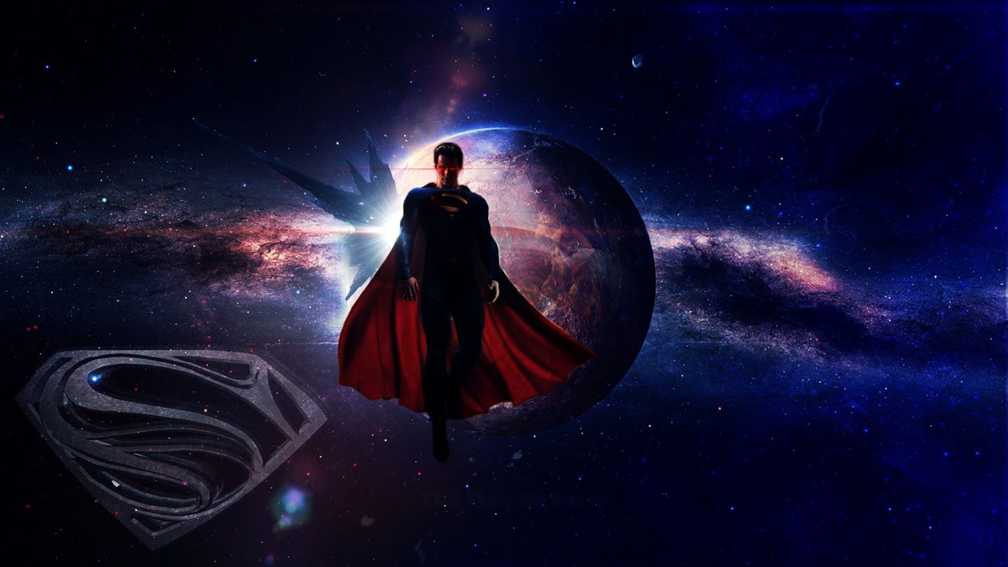 Online Wallpapers Shop Superman Man Of Steel Poster Wallpaper 1440x810