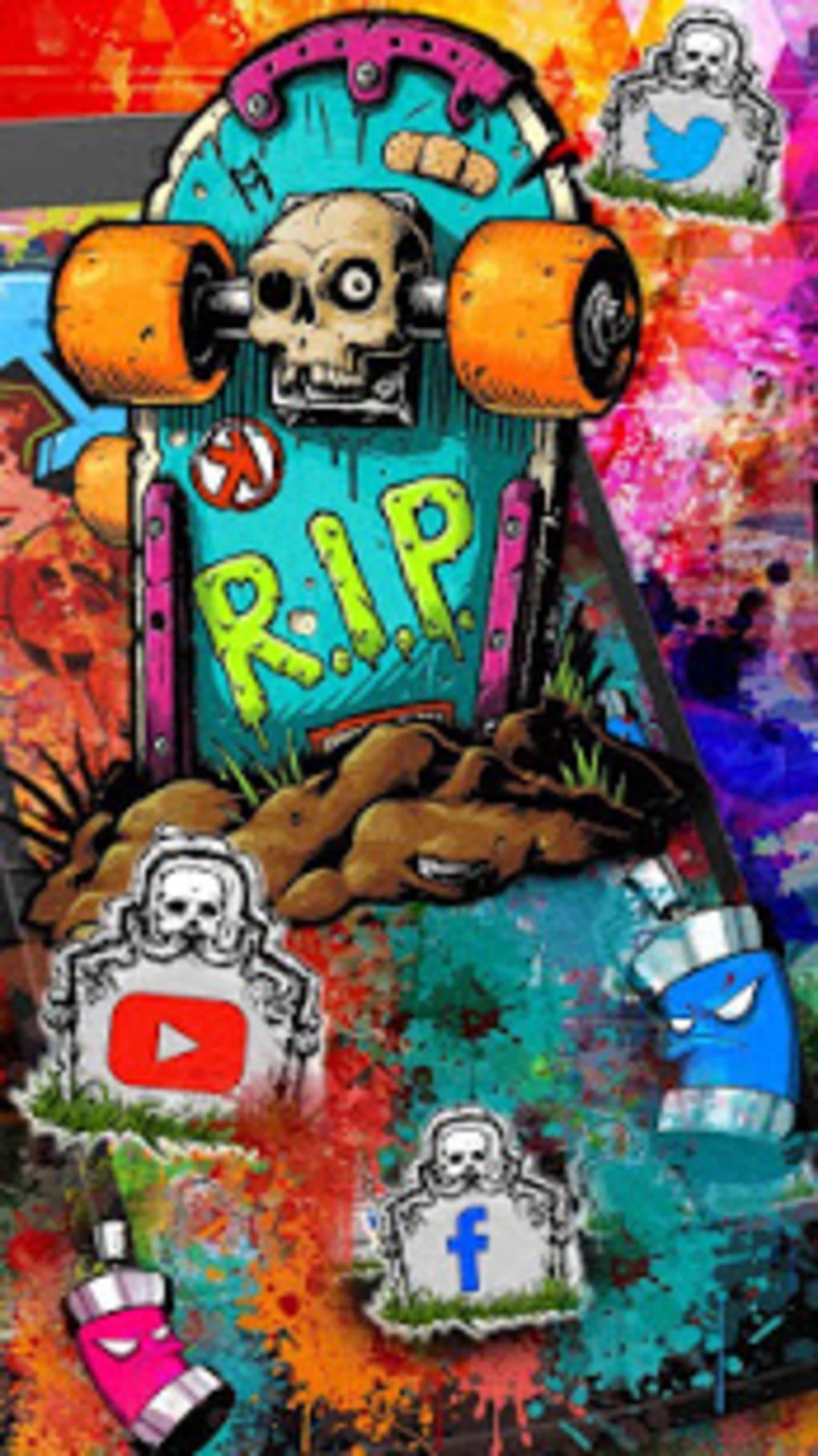 Free Graffiti Skate Themes HD Wallpapers 3D Icons