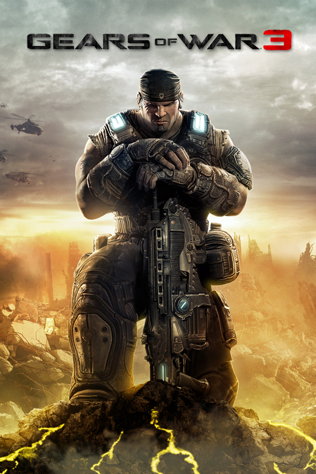 Gears Of War 3 HD Wallpapers For IPhone 4 ITito Themes Blog 640x960