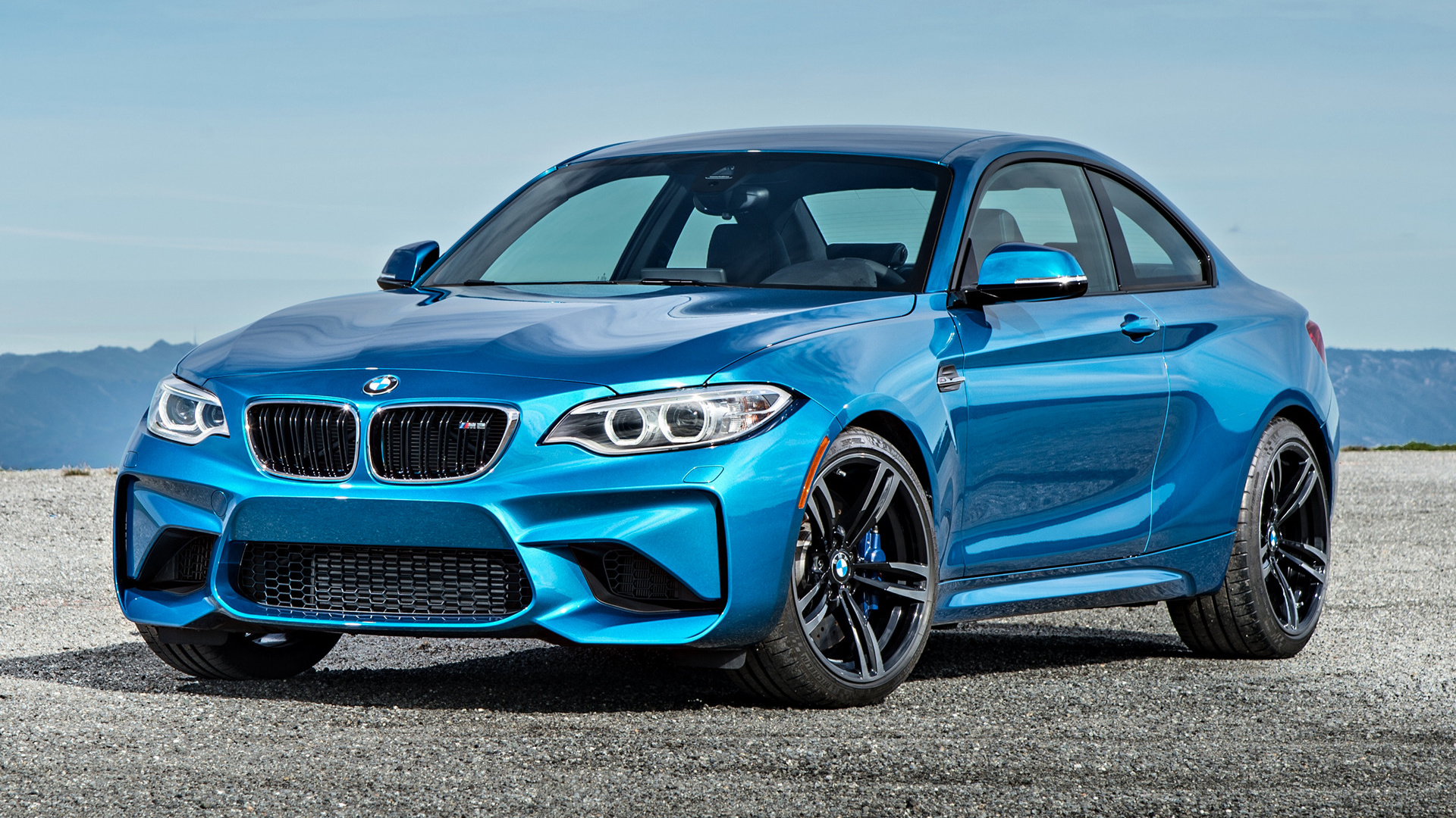 BMW M2 Coupe 2016 US Wallpapers and HD Images 1920x1080