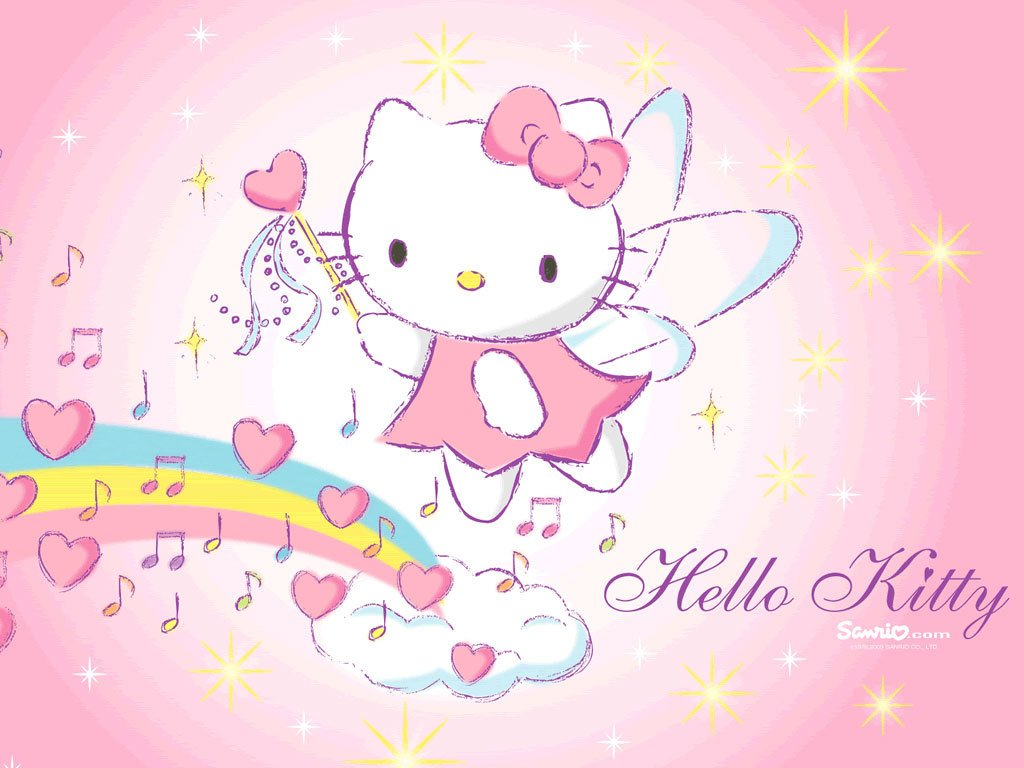 Wallpapers   Hello Kitty Wallpaper 28941589 1024x768