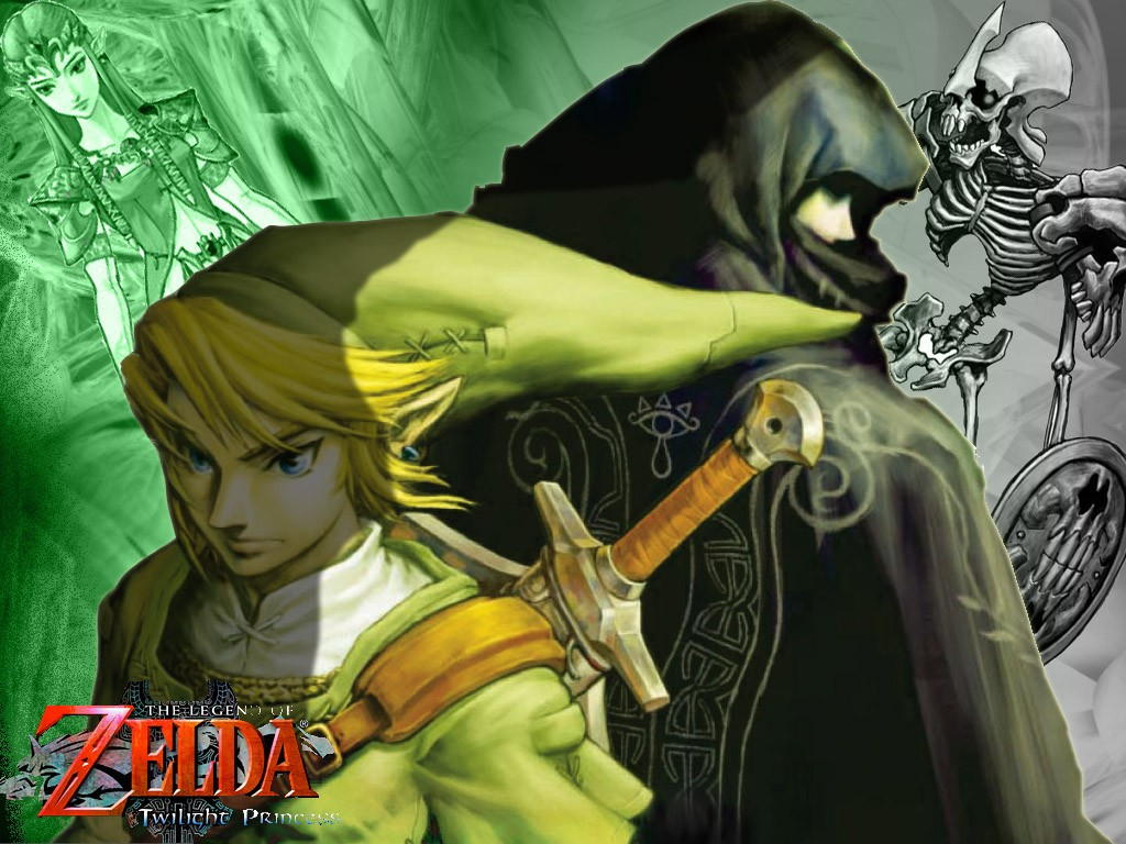 Zelda Twilight Princess Wallpaper Gamebud 1024x768