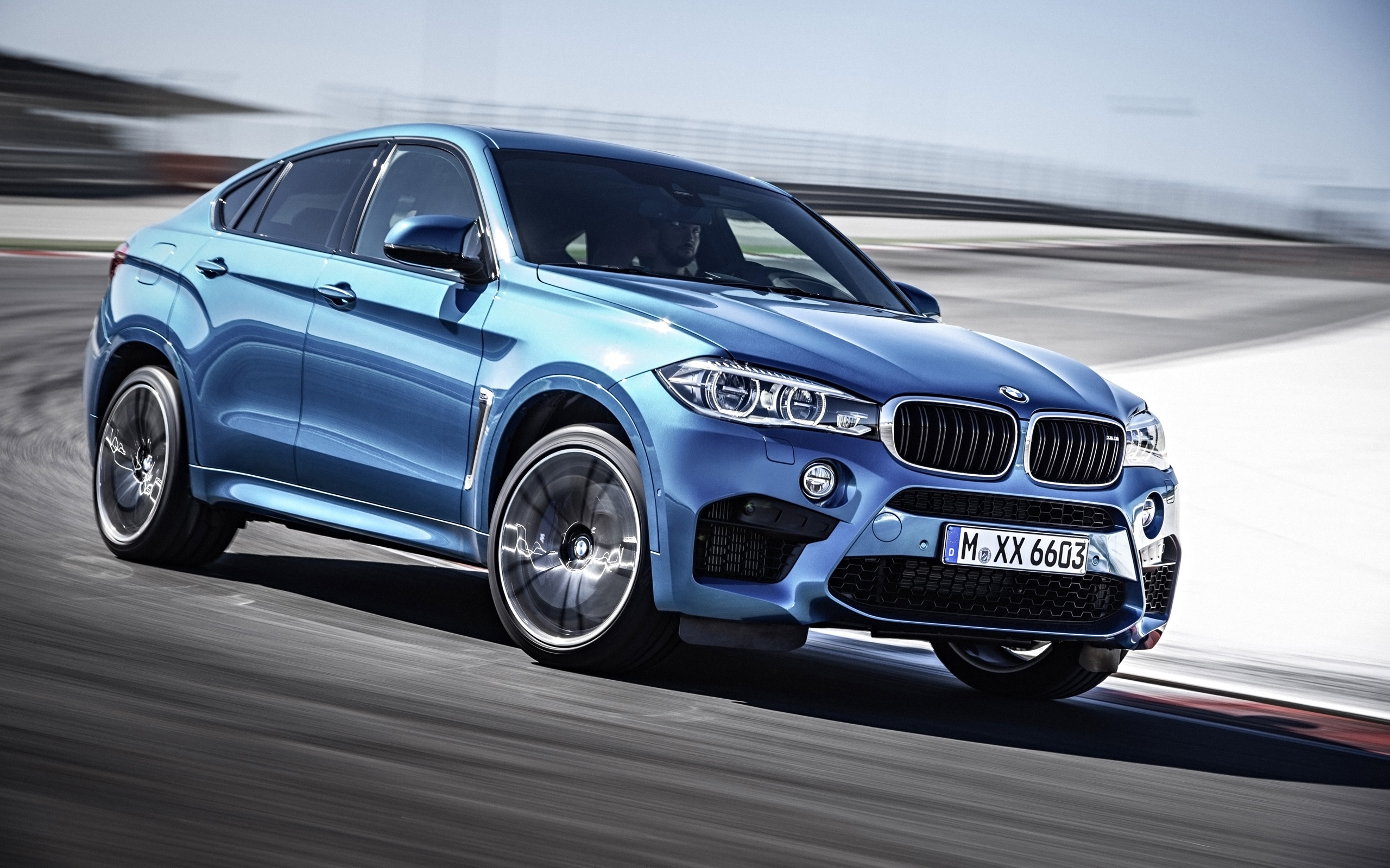 2015 BMW X6 M Wallpaper HD Car Wallpapers 2560x1600