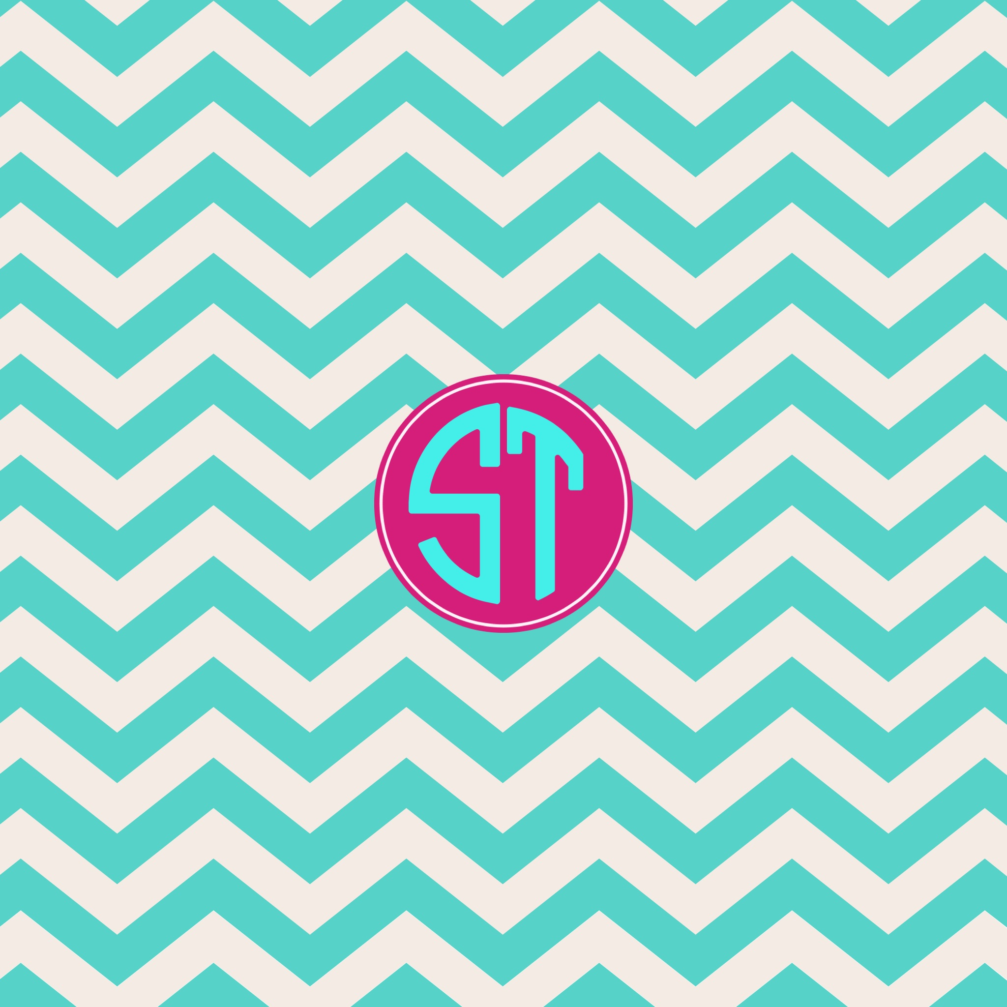 Stencil Monogram Wallpaper Backgrounds Fashion Skins Themes 2048x2048
