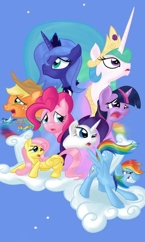 My Little Pony Live Wallpaper 10 Screenshot 2 480x800