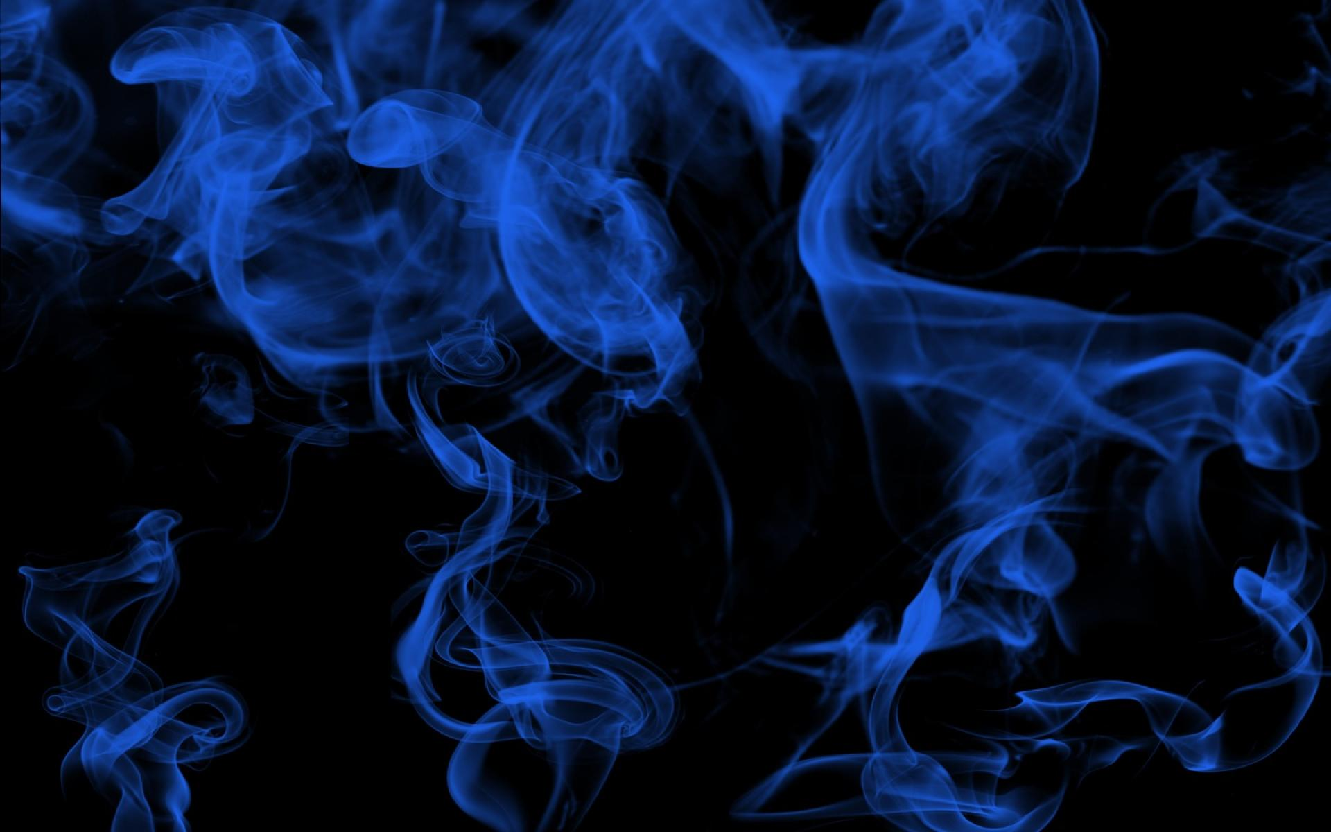 Pics Photos   Blue Smoke Background 1920x1200
