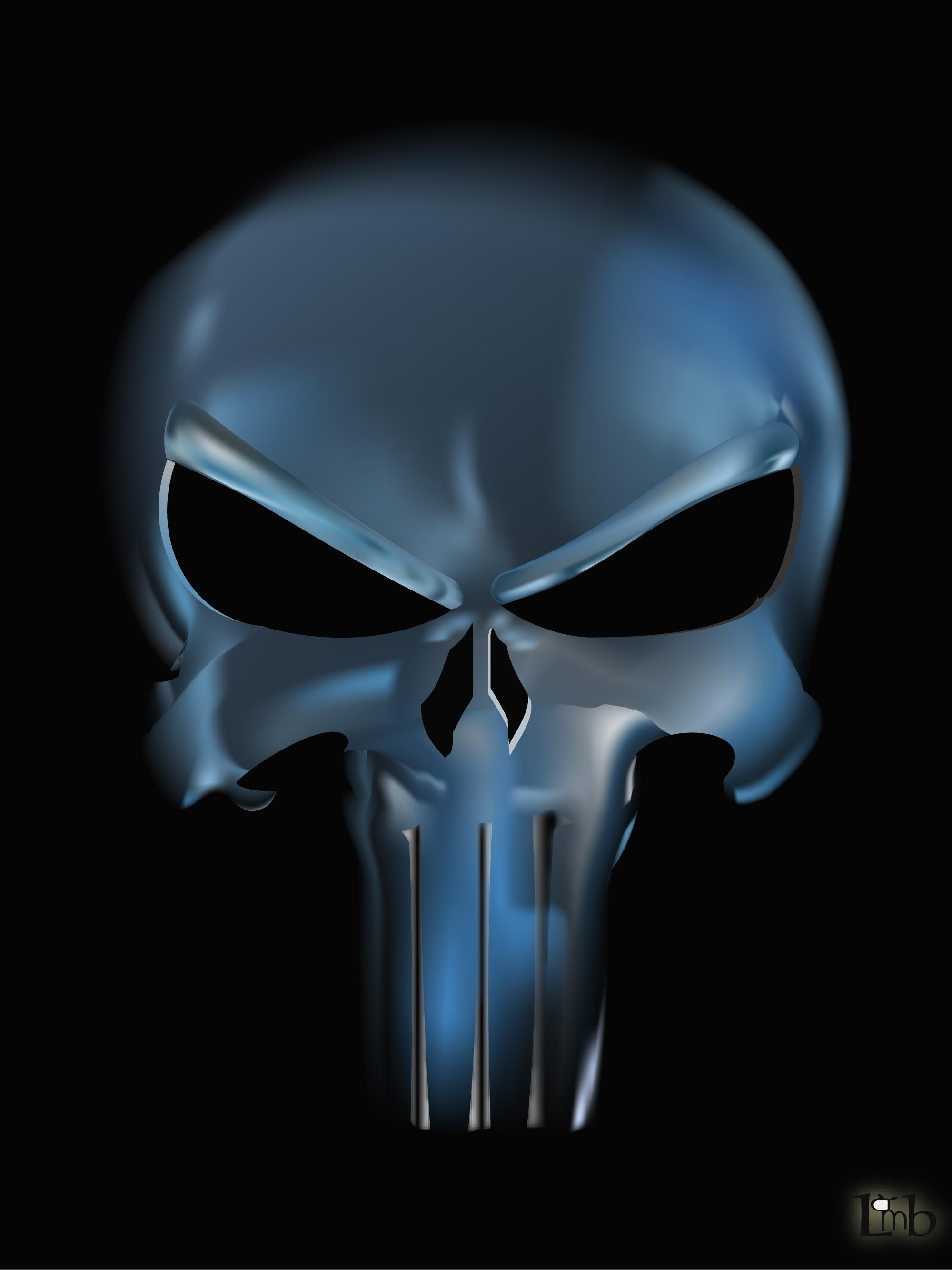 The Punisher Logo Wallpaper - WallpaperSafari