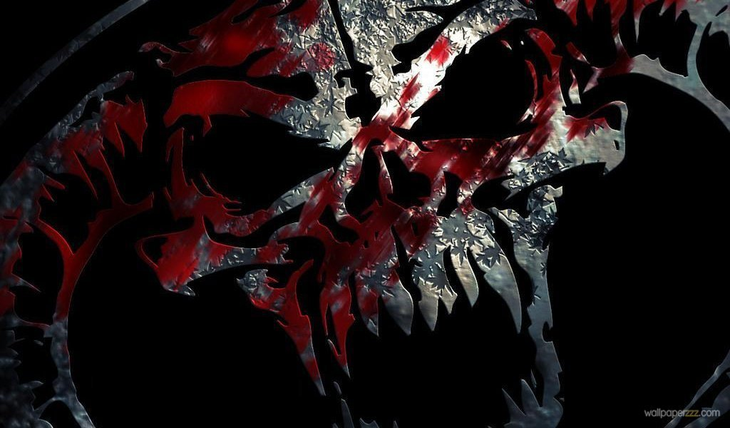 Download Skull In Blood Widescreen Wallpaper Wallpaper 1024x600