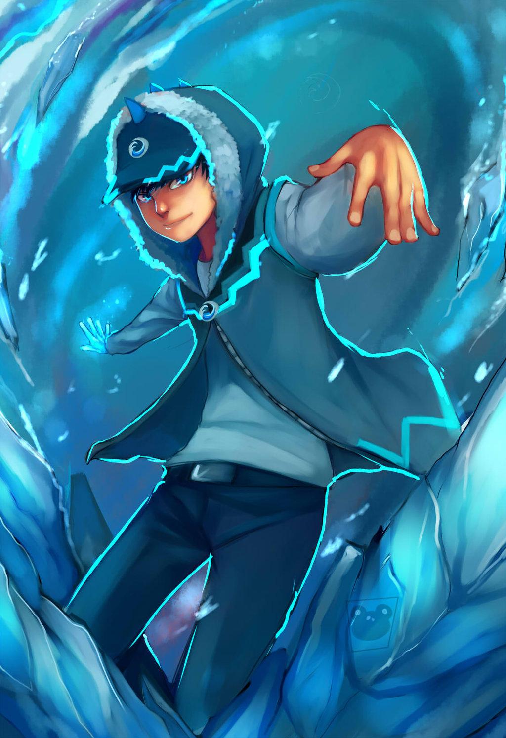 Boboiboy Ice by blackkenzaki 1024x1494