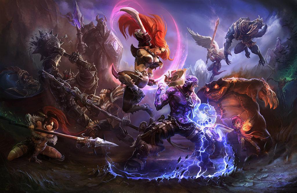 Free Download League Of Legends Wallpaper By Su Ke 1024x665