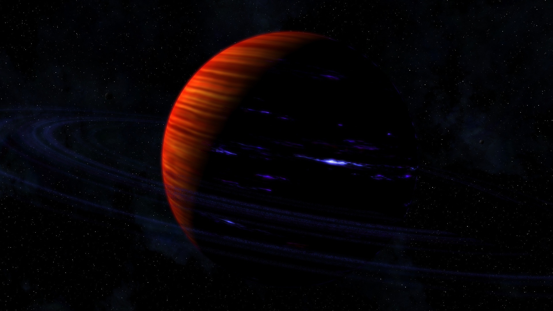 Free sci fi planets wallpaper background