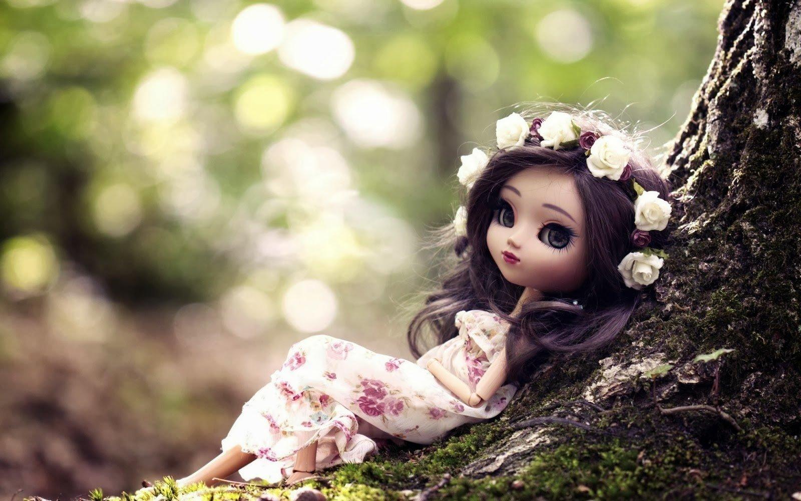 Very Cute Doll Wallpapers - WallpaperSafari