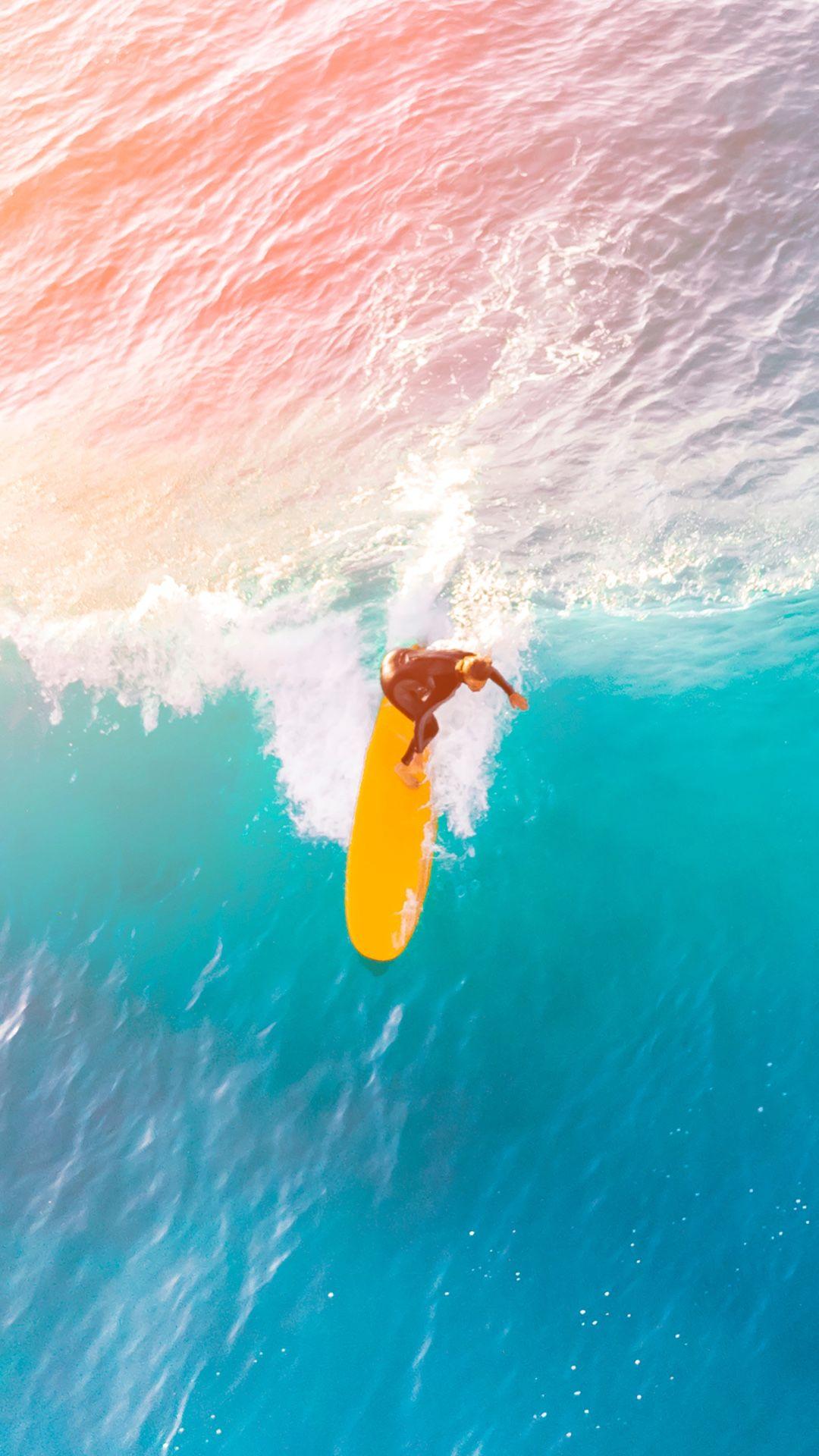 Surf wallpaper Surf wallpaper Surf painting Surfing wallpaper 1080x1920