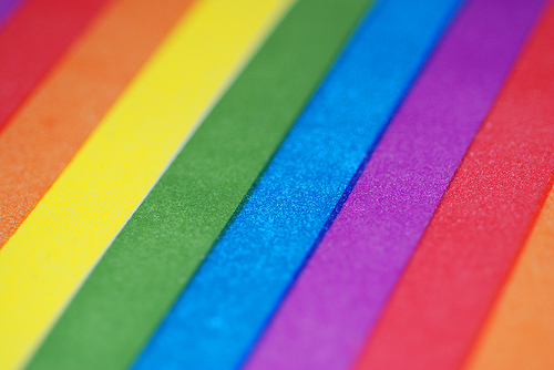 Rainbow Stripes Background   rainbow color gaypride lgbt macro colours 500x334