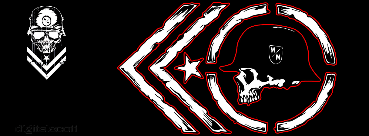 how to draw metal mulisha logo