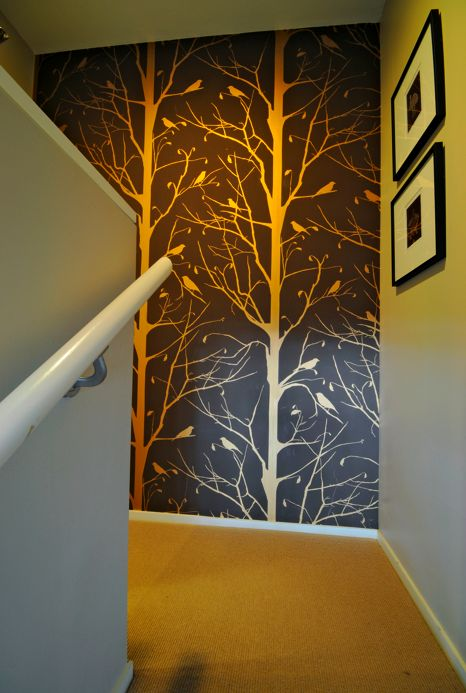 Blackbird Wallpaper by Cavern Home Home Pinterest 466x693