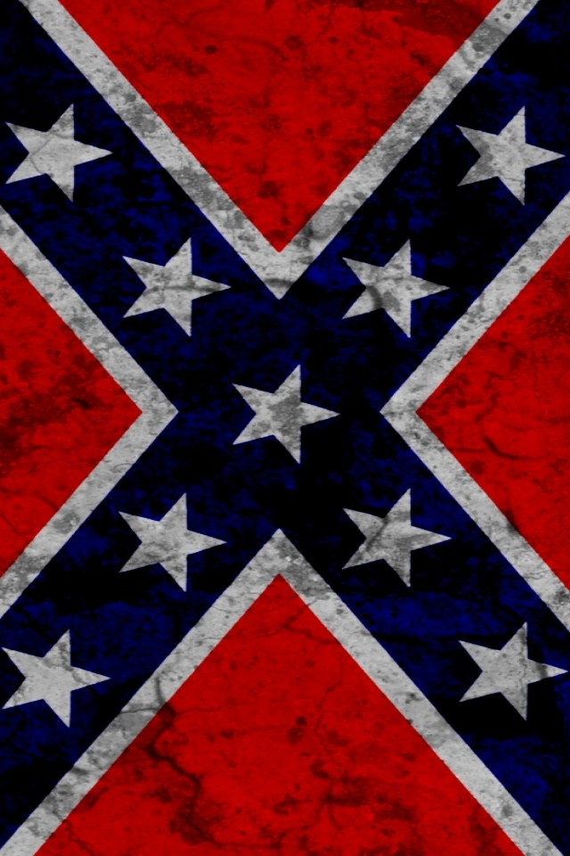rebel flag iPhone wallpaper 640x960