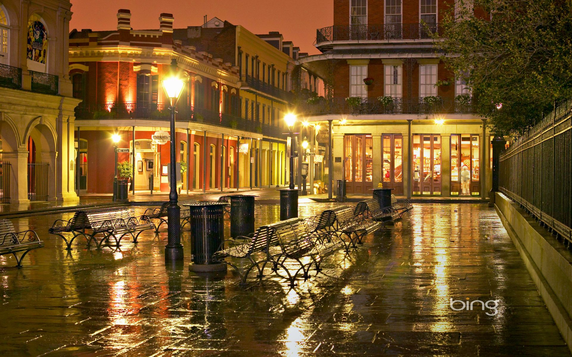 bings newest images french quarter in new orleans louisiana 1920x1200