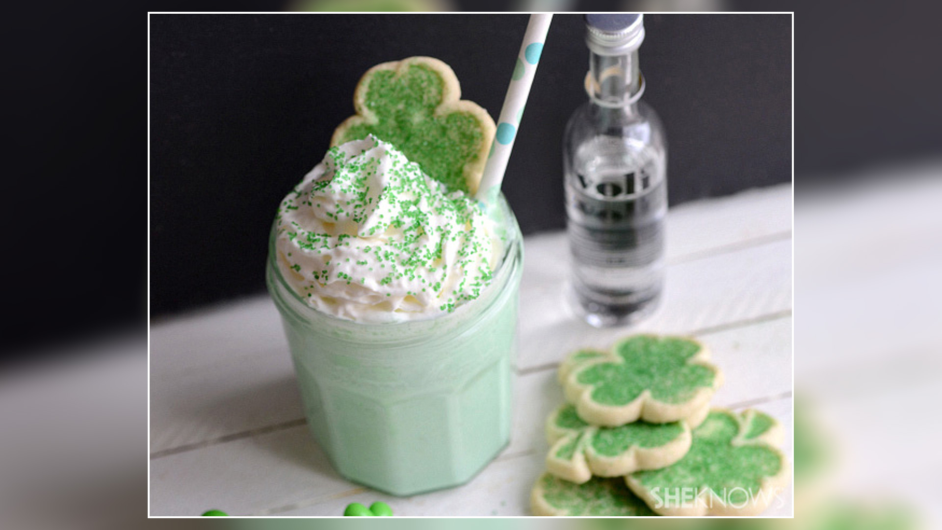 Boozy shamrock shake combines two St Patricks Day traditions 1920x1080