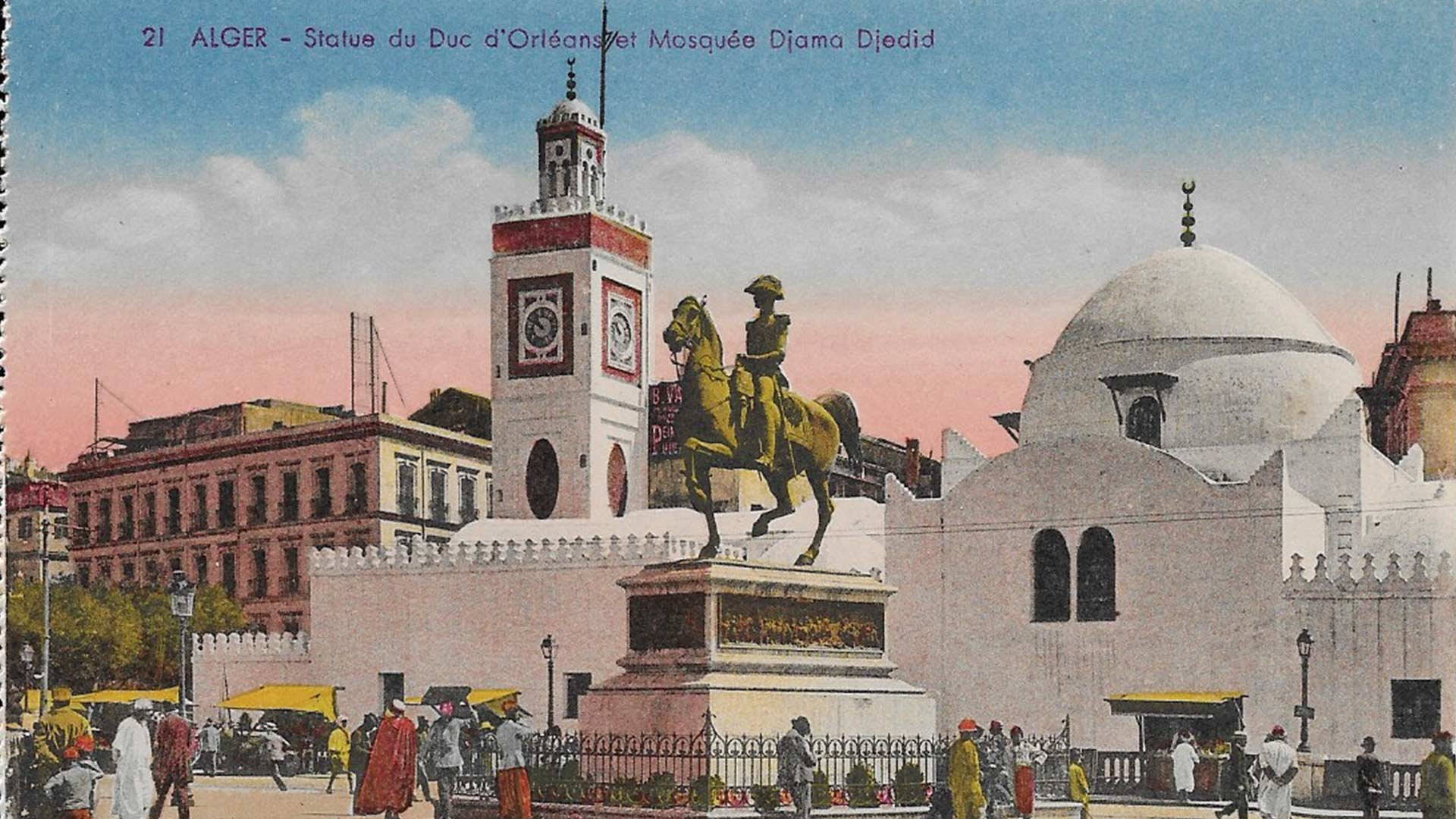Algiers to Neuilly The Duc dOrlans Statue Pieds Noirs 1920x1080