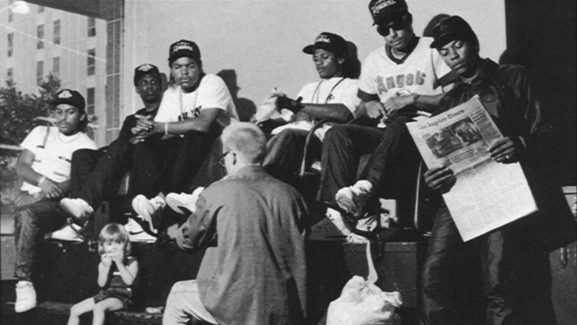 NWA Eazy E Mc REN Dr DRE Ice CUbe Old skool G Rap Hip Hop 1920x1080