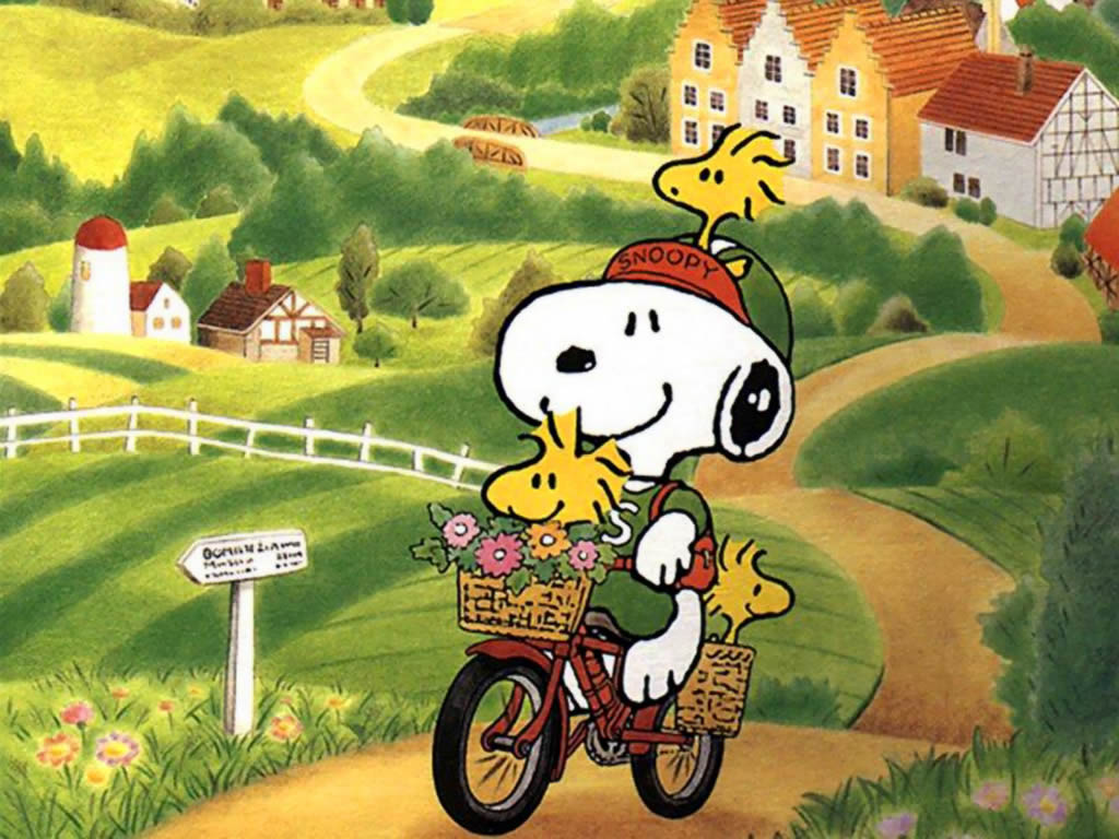 Snoopy wallpaper   Snoopy Wallpaper 33124655 1024x768