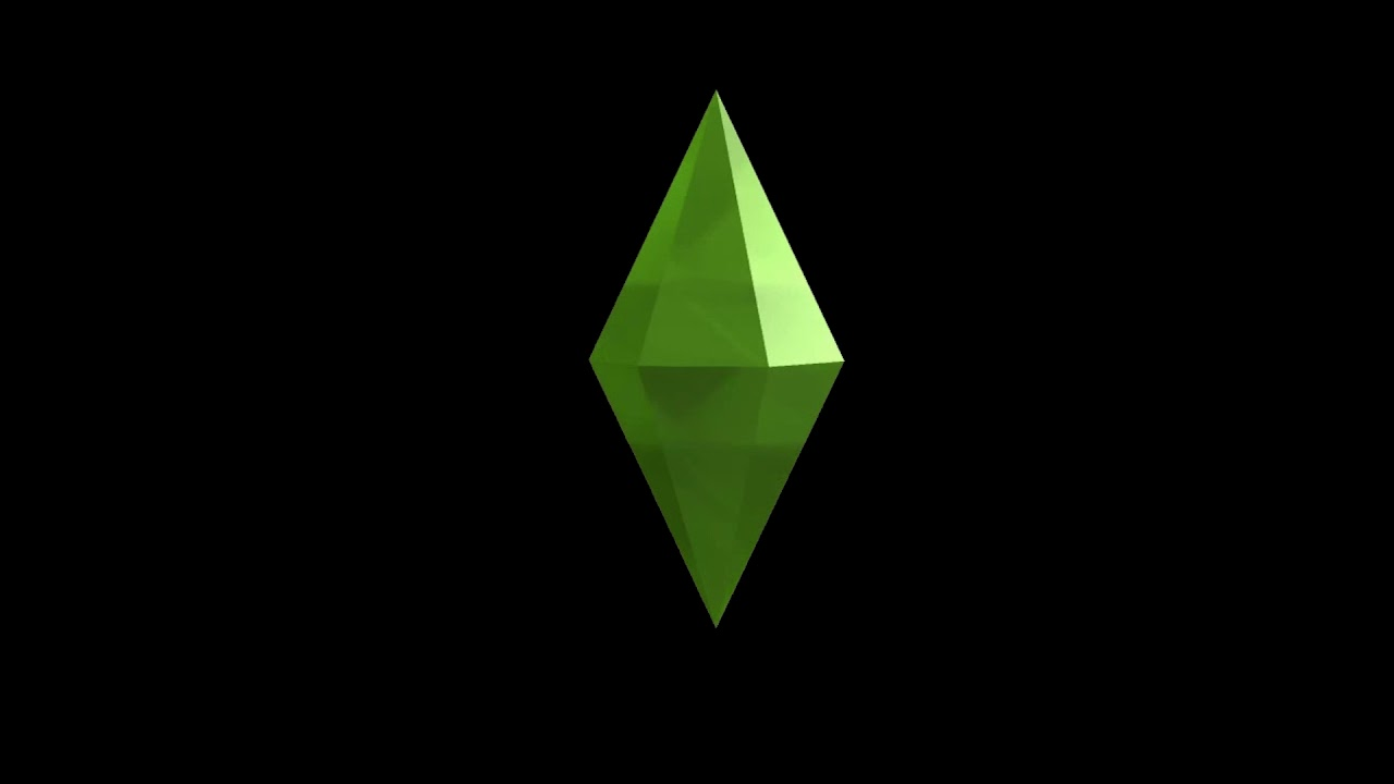 Sims 4 Spinning Plumbob Black Background 1280x720