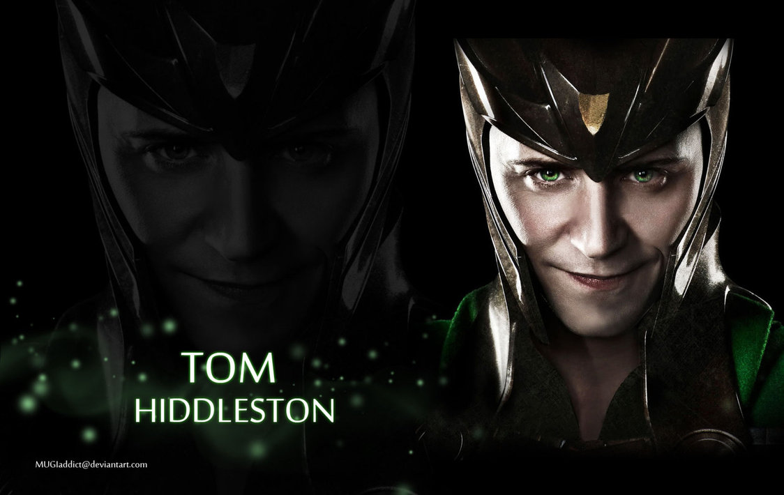 Tom Hiddleston as Loki wallpaper by MUGIaddict 1124x710