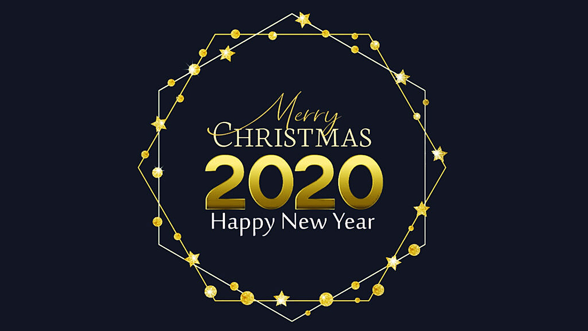 Happy New Year 2020 HD Background Wallpaper 45548   Baltana 1920x1080