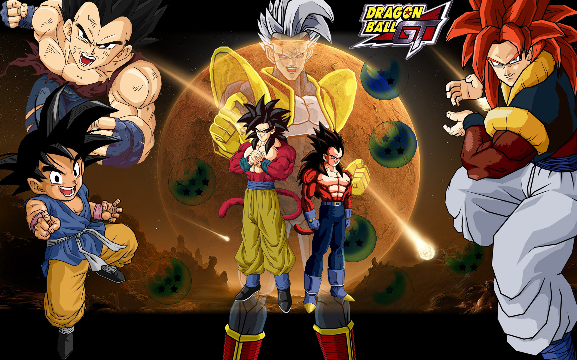 Dragon Ball GT HD Wallpaper 1920x1200