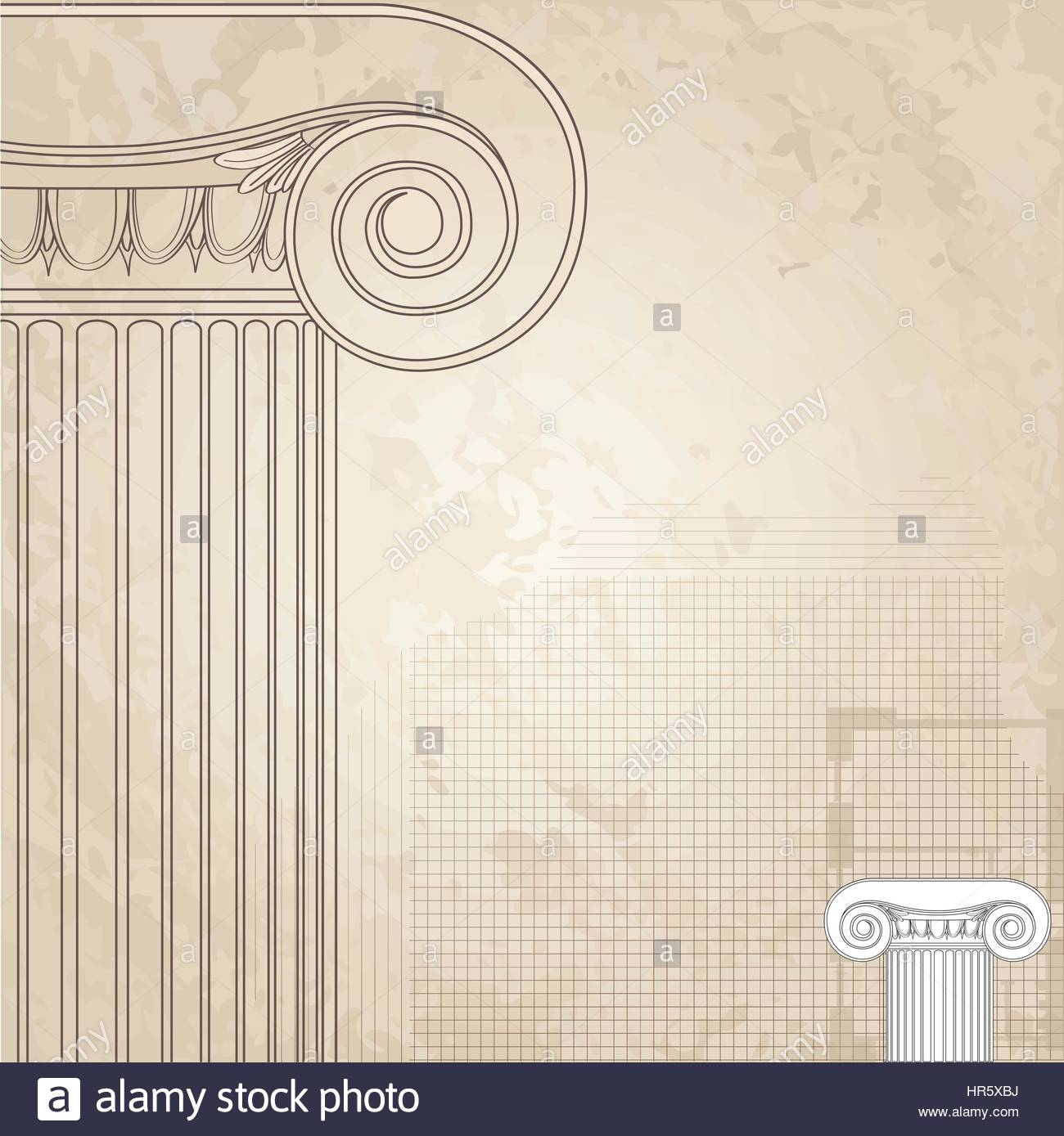 Classic columns background Roman Engraving background for Stock 1300x1389