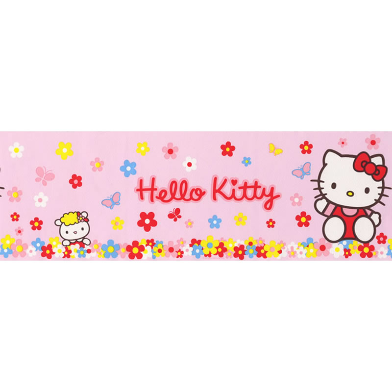 Details about Hello Kitty Pink 4760 14 Wallpaper BORDER   10 Mtr Roll 800x800