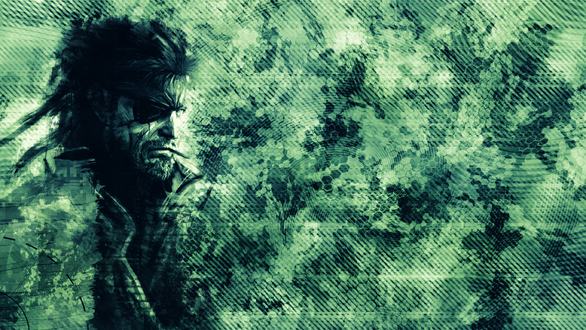 Camouflage Abstracted Art Statistics HD wallpapers 1920x1080