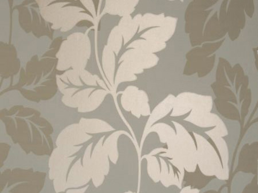 Delivery on Ornella Mineral Blue Beige Floral Wallpaper 1000x750