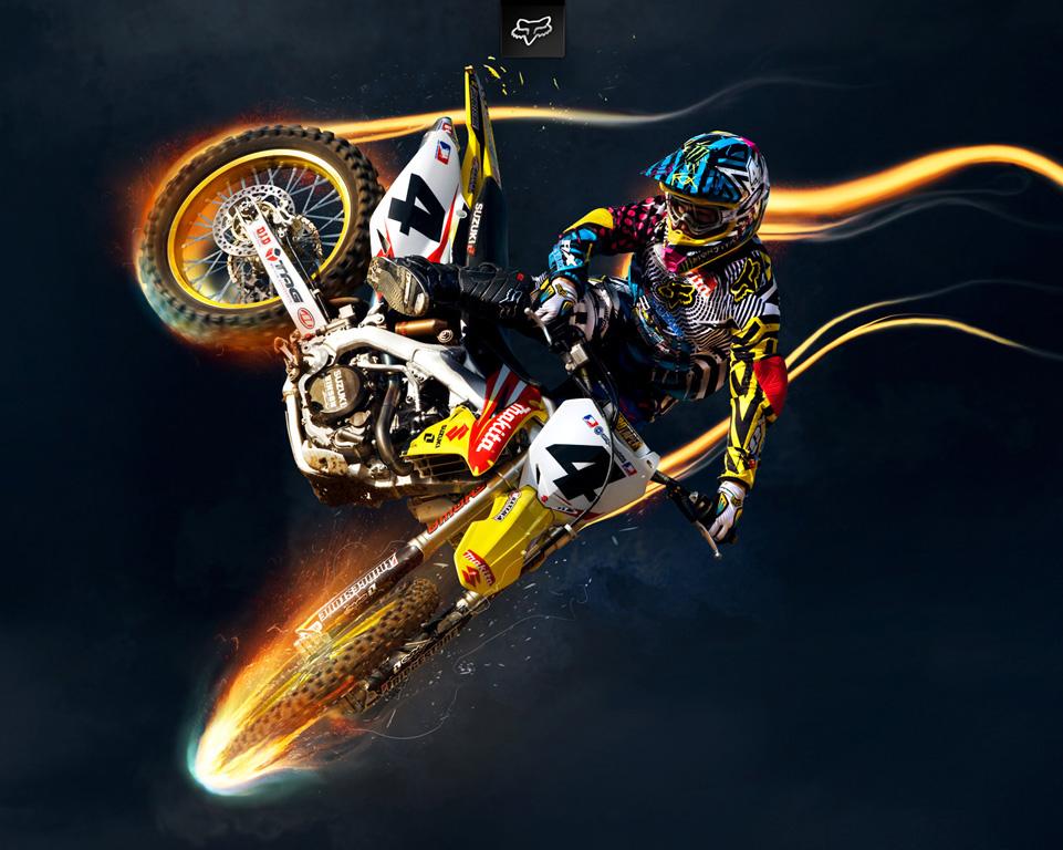 Fox Motocross Girl Wallpaper 961x768