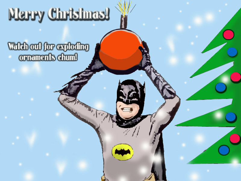 Batman Christmas Wallpaper - WallpaperSafari