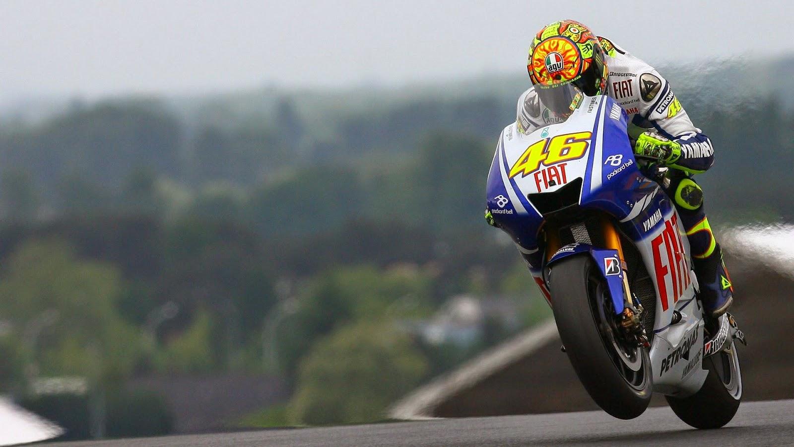 Valentino Rossi Yamaha Wallpaper HD   Walpaperes 1600x900