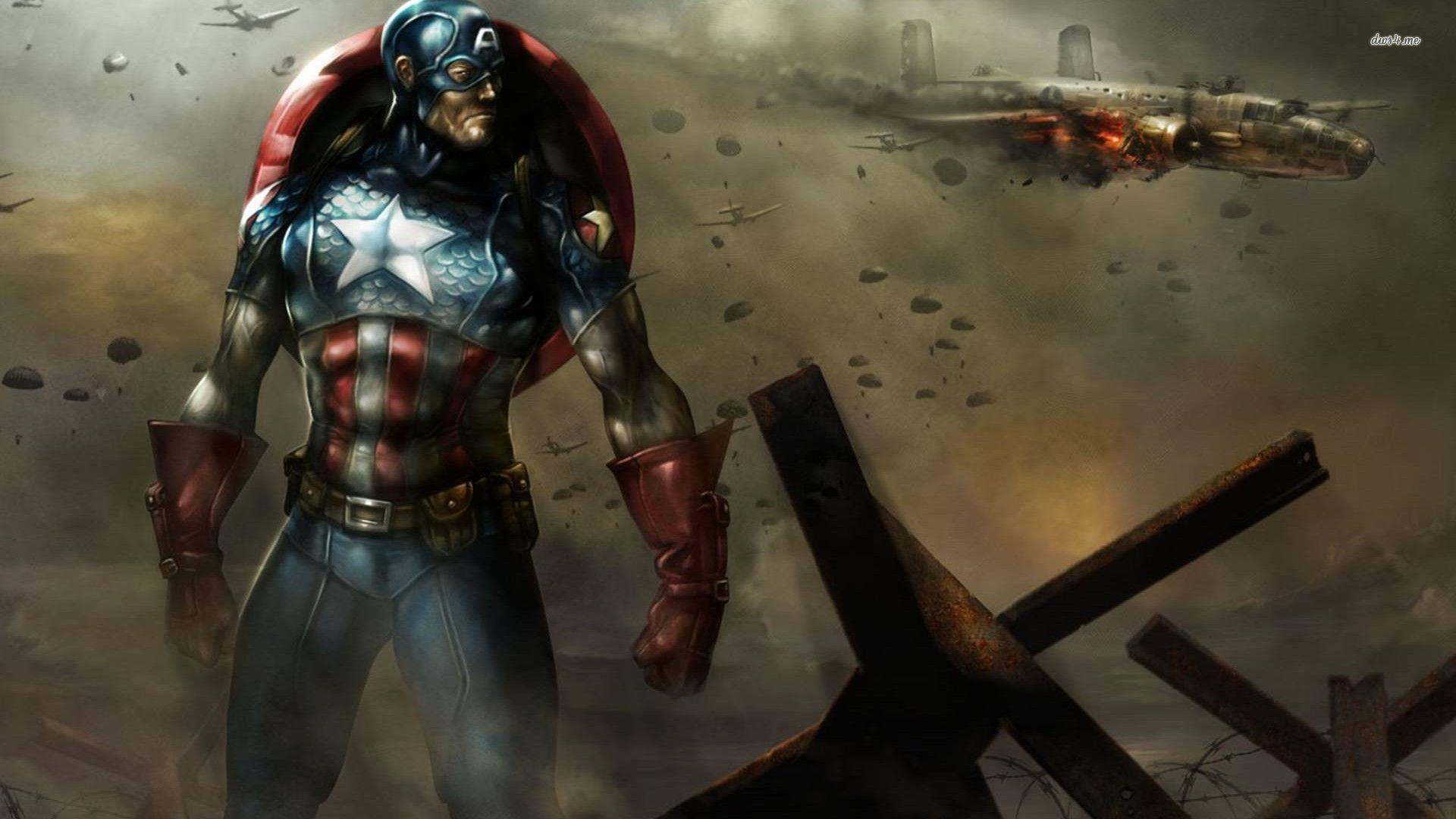 captain america wallpaper for desktop1 24 1920x1080