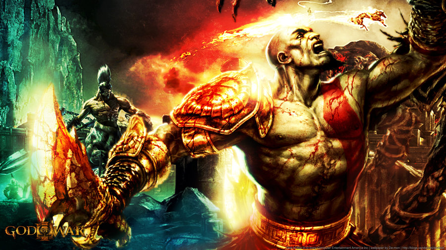 Free Download God Of War Iii Wallpaper By De Monvarela