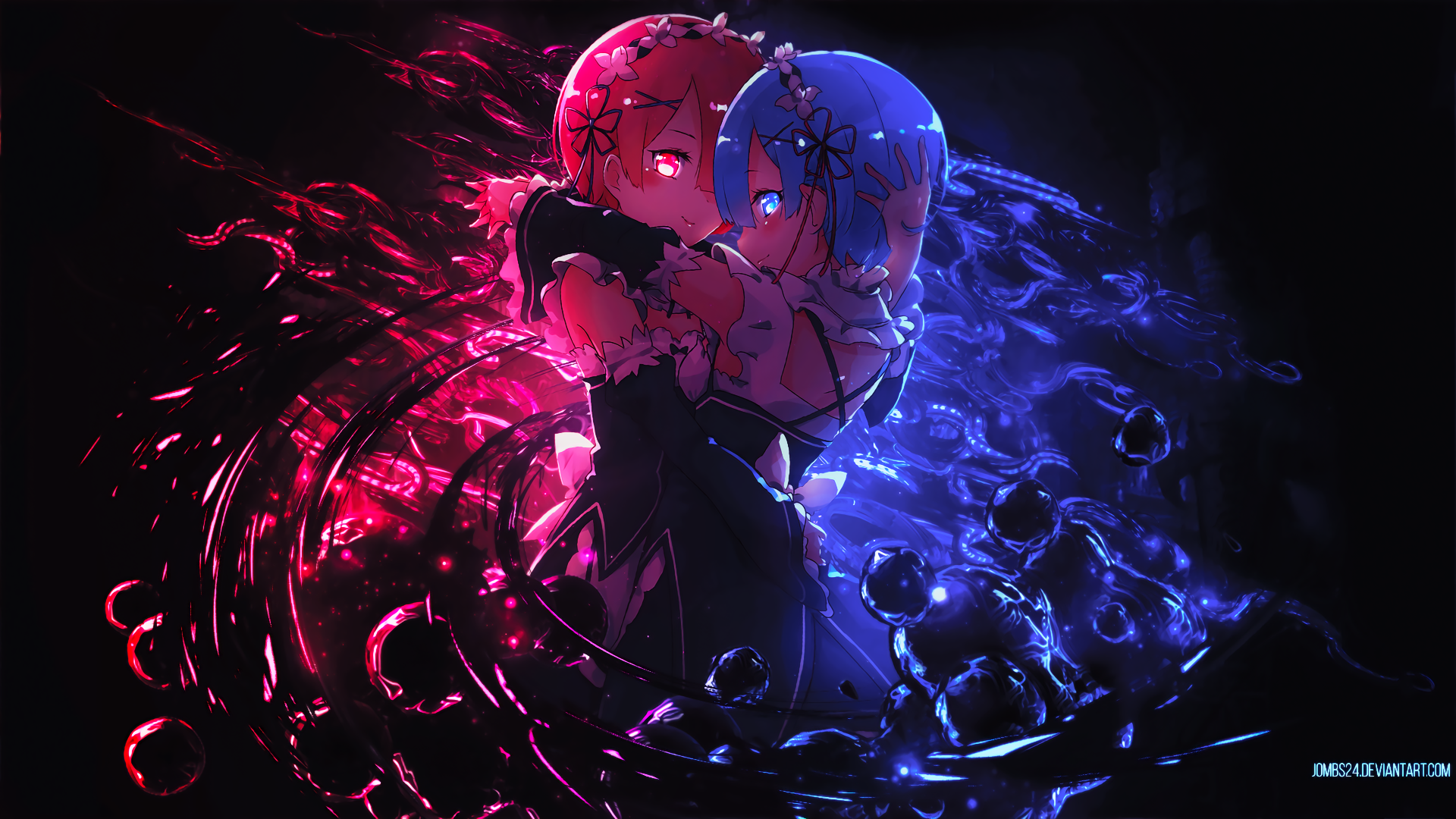 1298 Rem ReZERO HD Wallpapers Background Images 1920x1080