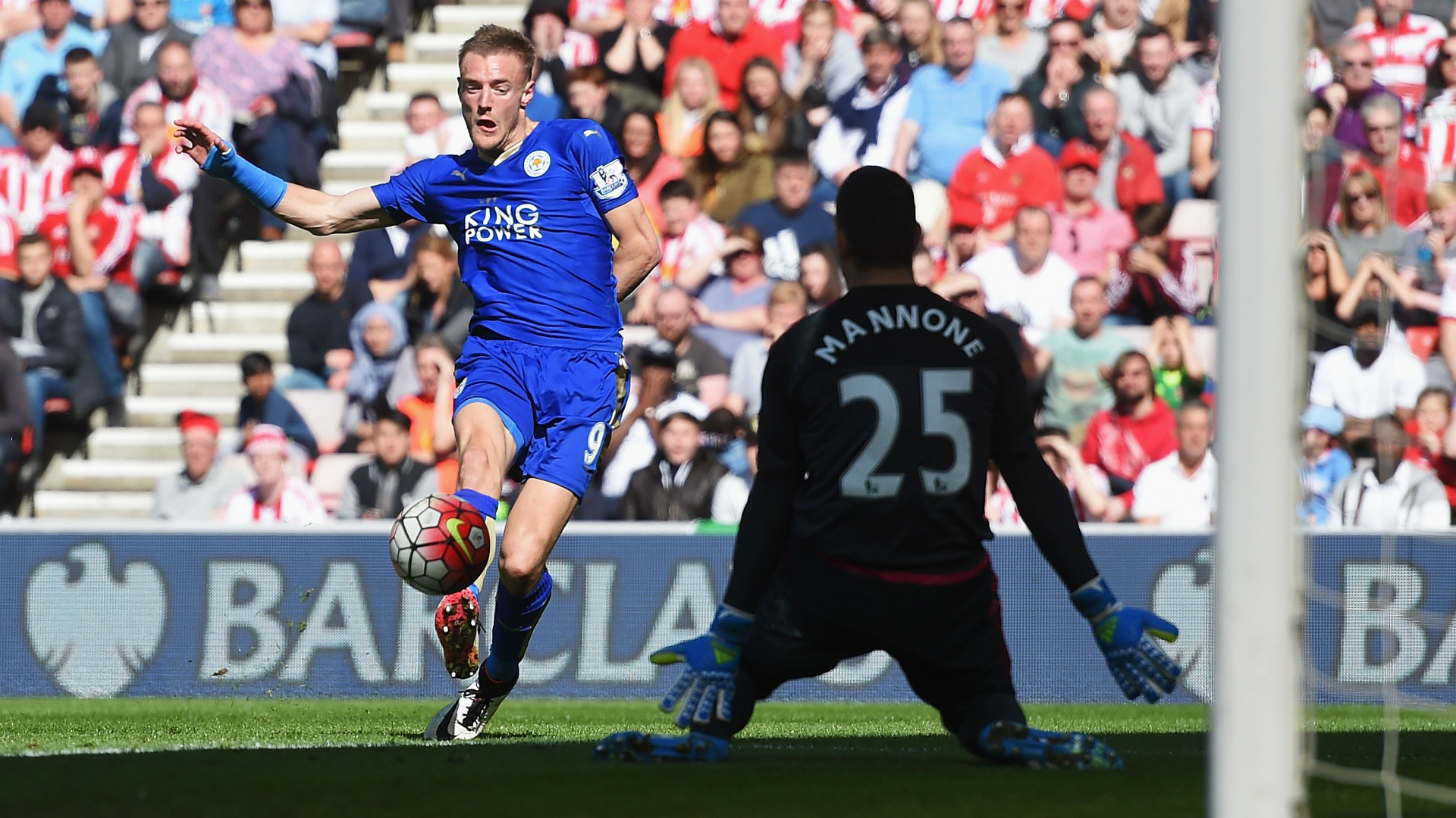 Sunderland 0 2 Leicester City Vardy the difference as Foxes edge 1920x1080