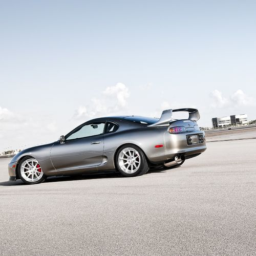 Supra Sideview Picture For iPhone Blackberry iPad Grey Toyota Supra 500x500