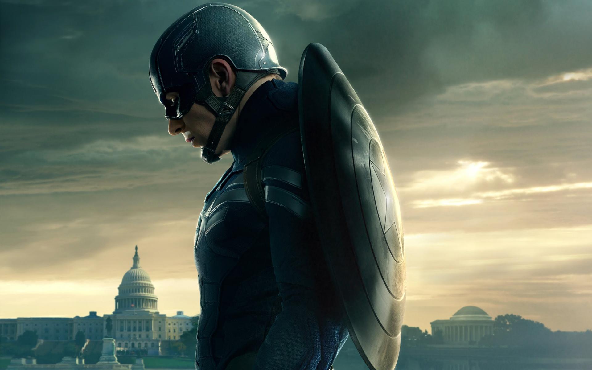 Captain America HD Wallpaper For Desktop 1920x1200