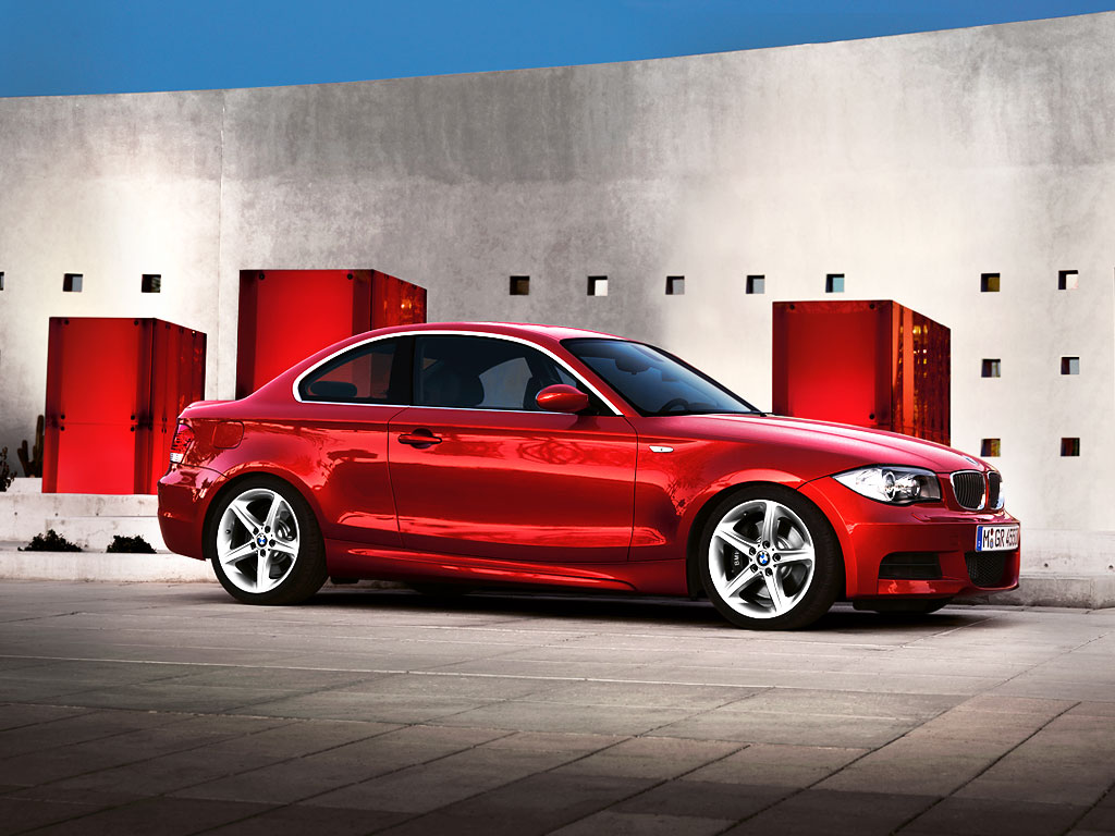 BMW 1 Series Coupe Wallpapers for PC BMW Automobiles 1024x768