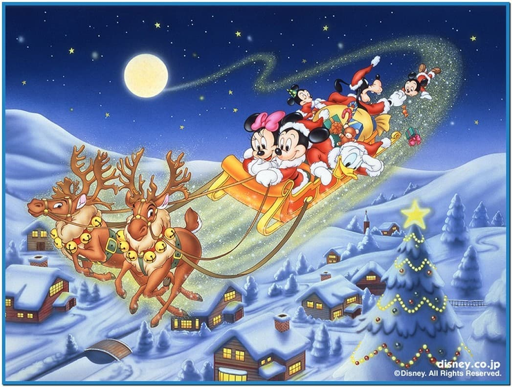 Disney christmas animated screensavers   Download 1047x791