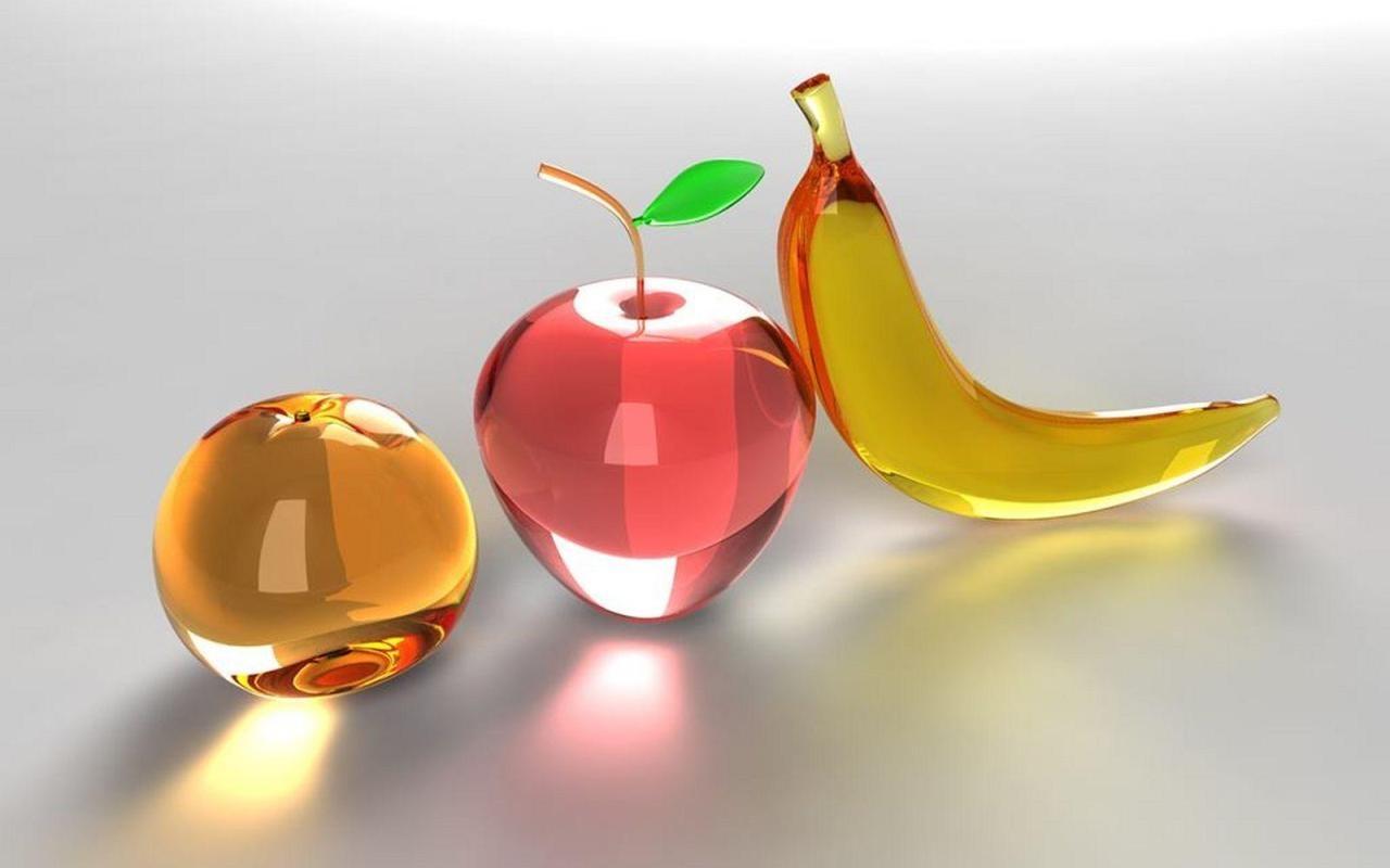 3D glass digital art desktop wallpaperjpeg 1280x800