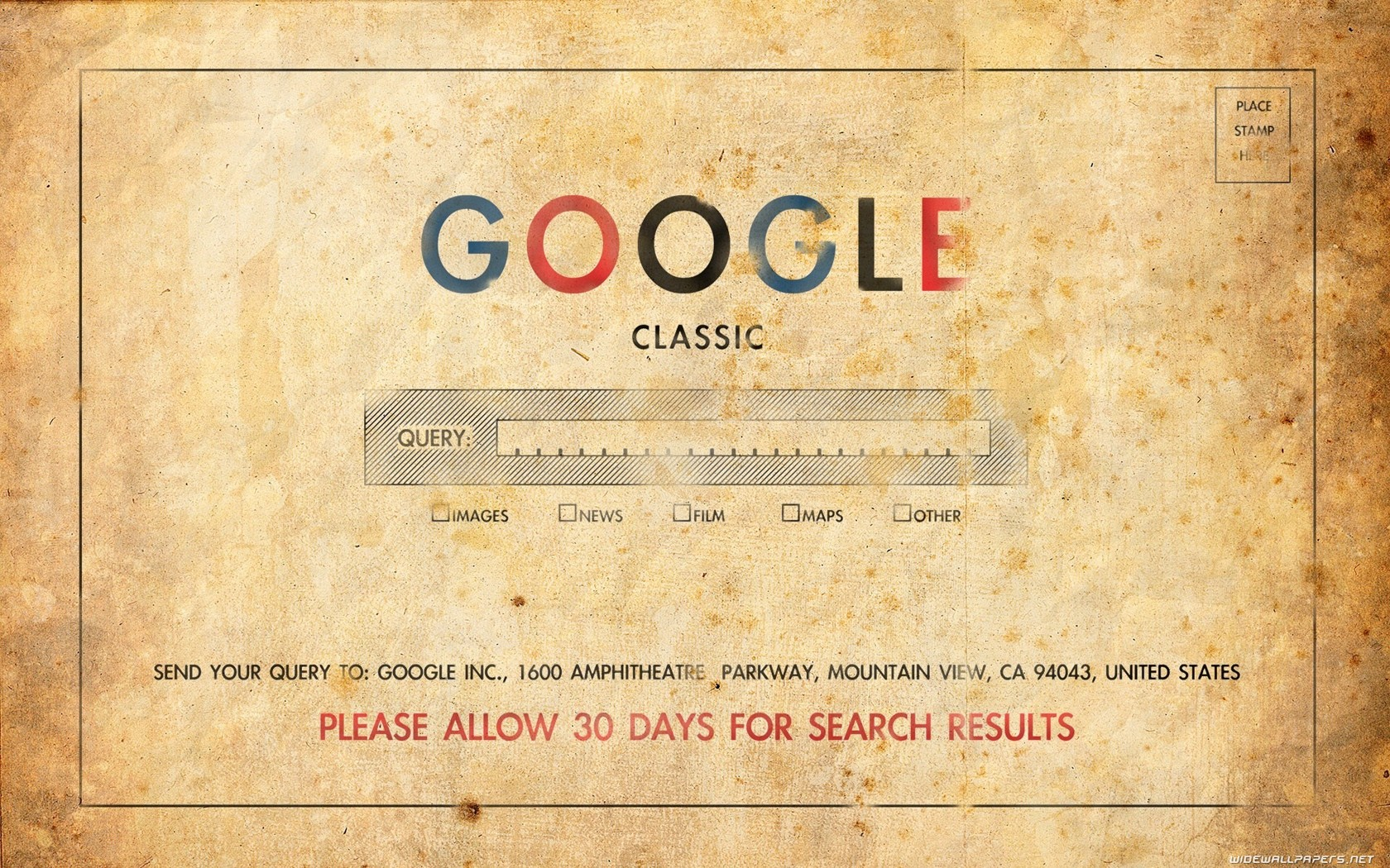 Daily Wallpaper Old School Google I Like To Waste My Time 1680x1050